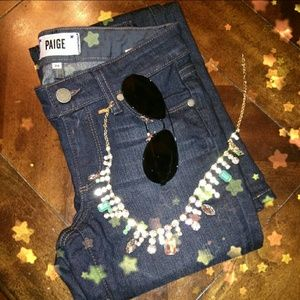 Paige small boot jeans