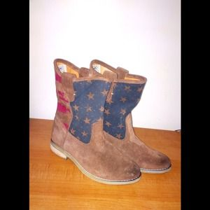 Denim&Supply Ralph Lauren'Ayla casual flag booties