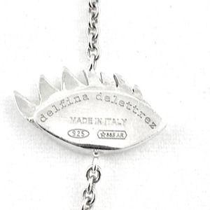 Delfina Delettrez Jewelry - Delfina Delettrez Silver Evil Eye Necklace