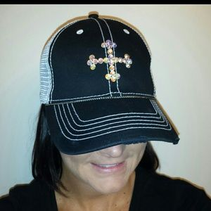 Other - Designed by me! Bling trucker hat! Brand new