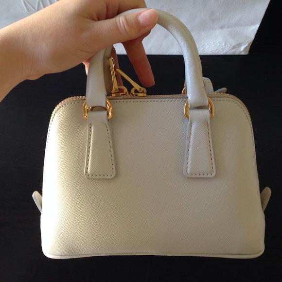 black prada diaper bag - Prada - ??Authentic Prada mini Saffiano promenade bag from ...