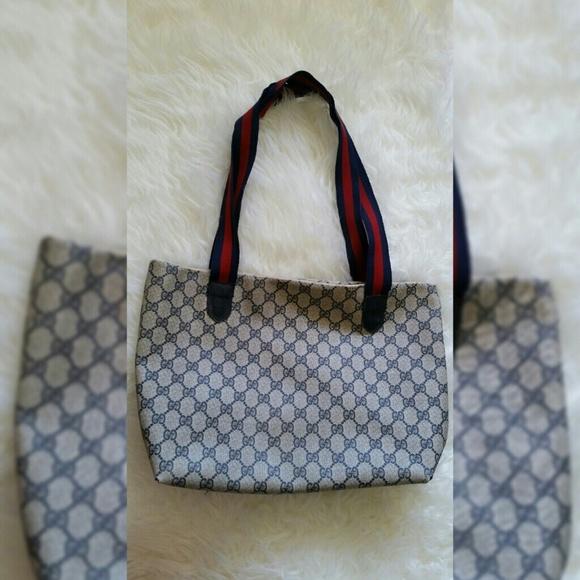 c1022dab811f Gucci Bags   Vintage Tote Bag Authentic Negotiable   Poshmark