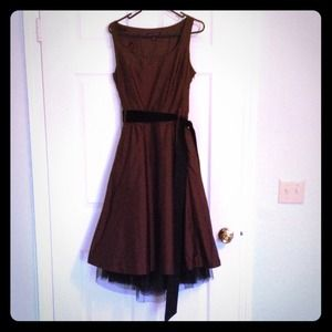 Banana Republic Dresses & Skirts - Banana republic chocolate brown strapless dress