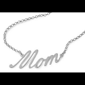 Sterling silver 925 stamped necklace