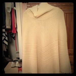 Authentic talbots Poncho Worn Once