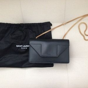 Ysl Yves Saint Laurent Mini Betty Bag Black