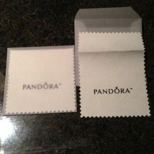 2 Pandora Jewelry cleaning cloths