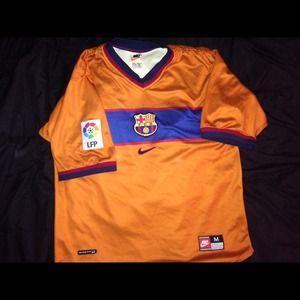 Nike FCB Soccer Jersey