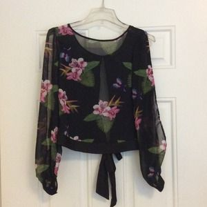 Forever 21  REDUCED!!!!!!Chiffon blouse