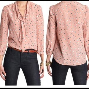 Marc by Marc Jacobs Pink blouse with tie
