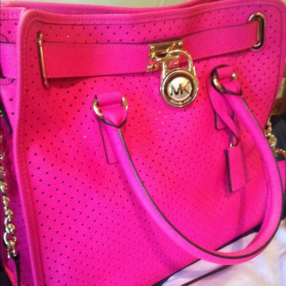 29% off Michael Kors Handbags - Michael KORS HOT PINK bag. Org ...