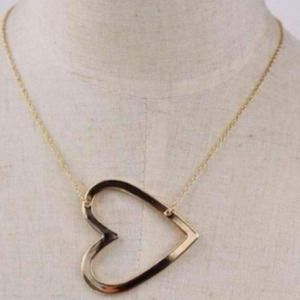 Jewelry - Sideways Heart Necklace