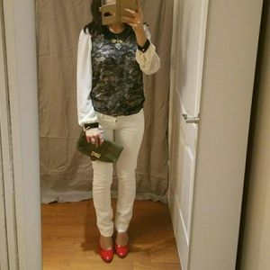 Tops - Chiffon lace blouse