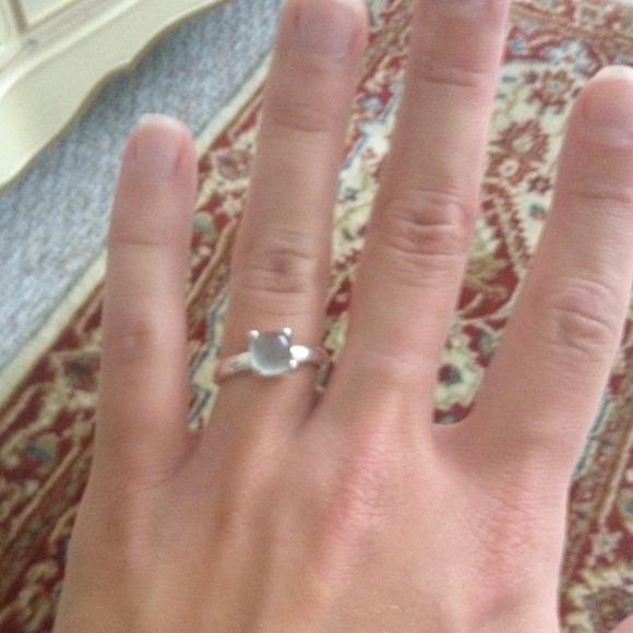 62bc575f8 ... sterling silver; green quartz jewelry; tiffany quartz rings; tiffany  and co sparklers smoky quartz cocktail ring size 642759frontlarge1 jewelry  tiffany ...