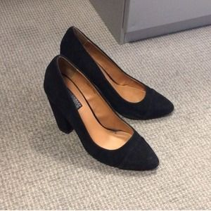 64% off Urban Outfitters Shoes - Urban Outfitters Black Suede ...