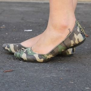 Mossimo Supply Co Shoes - Camo Flats