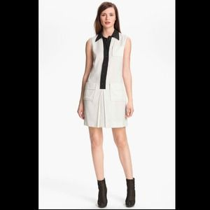 NWT $315 Rachel Zoe textured sleeveless dress