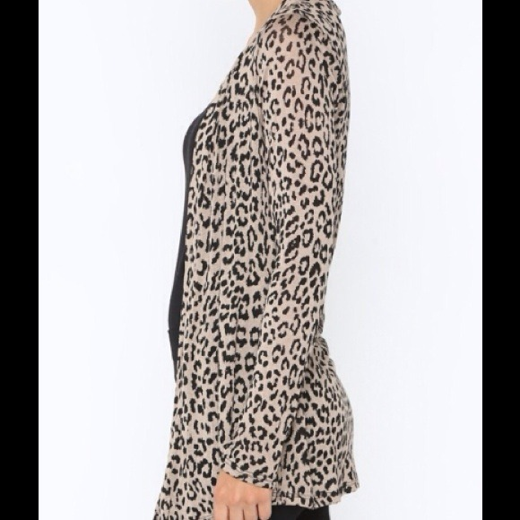 Boutique Brand - Leopard Print Cardigan from !candace [suggested ...
