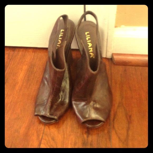60 liliana shoes wedge lilliana shoes from inacia s