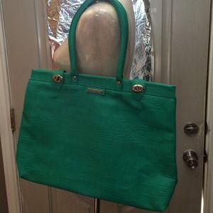 Sergio Valente Handbags - Sergio Valente Emerald Tote Handbag!