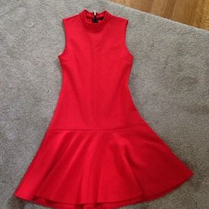 H&M Dresses & Skirts - Orange H&M scuba material dress