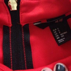 H&M Dresses - Orange H&M scuba material dress