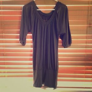 Dresses & Skirts - Dark grey long sleeve dress