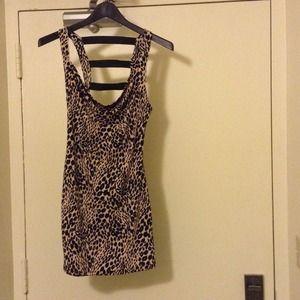 Charlotte Ruses Leopard Print Dress