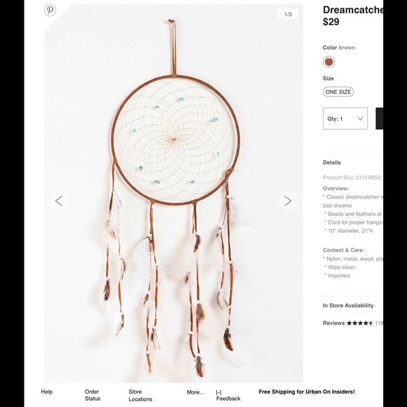Great Urban Outfitters Dream Catcher Amazing Design
