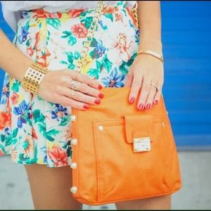 "Olivia + Joy Handbags - ""Olivia + Joy"" Orange bAg"