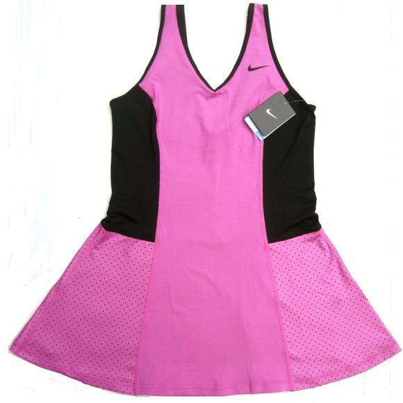 70% off Nike Dresses & Skirts - NWT Nike Dri Fit Pink Tennis Dress ...