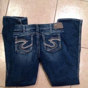 """Silver Jeans Denim - Silver jeans suki  17"""".   30x33"""