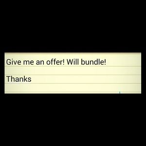 Give me an offer!