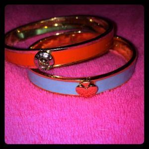 Orange Henri Bendel bracelet