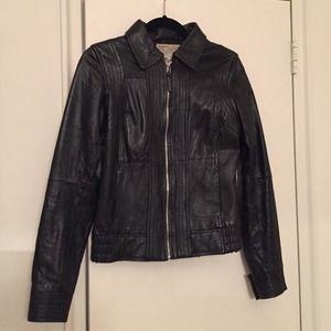 Zara Jackets & Blazers - Soft 100% leather jacket