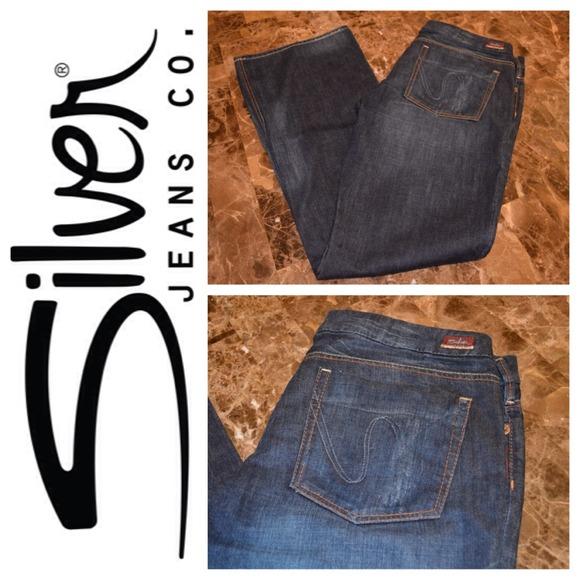 79% off Silver Jeans Denim - Silver Brand Stefani Jeans size 33 ...