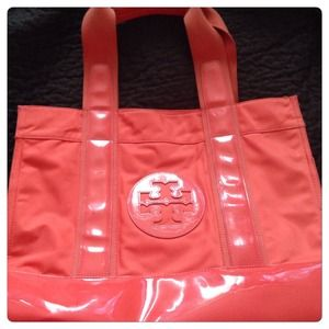 Tory Burch Orange Tote