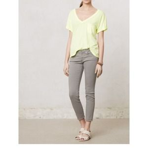 Anthropologie Denim - Andriano Goldschmied light grey Stevie Ankle denim