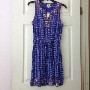 Irving and Fine for Lucky Brand Embroidered Dress!