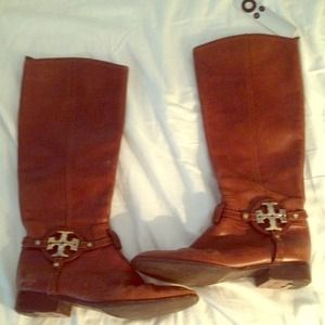 Tory burch riding boots size 81/2