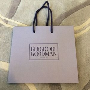 Bergdorf Goodman Shopping Bag