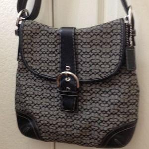 Coach Messenger Bag (Black)