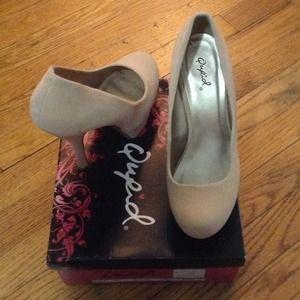 Qupid sky high platform heels!