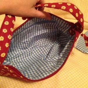 fb56ff5b27 Bags - Colorful cloth Shoulder Bag w change pouch