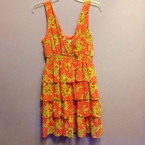 Forever 21 ruffled dress