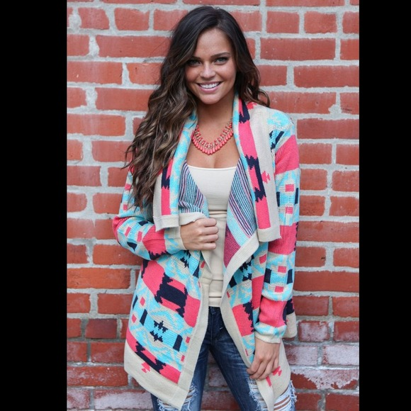 31% off Sweaters - ❤ !!!SOLD OUT!!!❤️Colorful Aztec Tribal ...