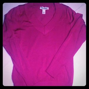 Sweaters - Hot pink sweater