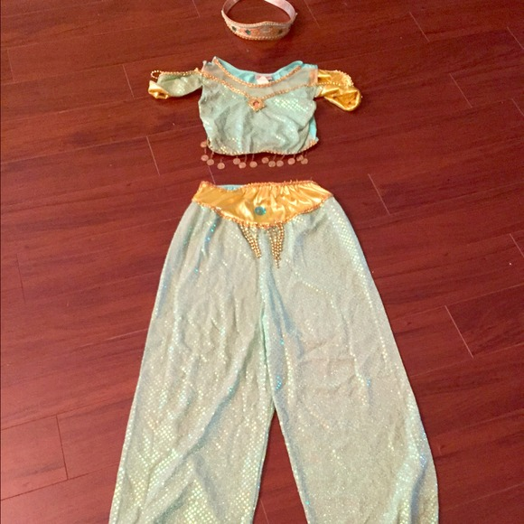 Disney Other Girls Princess Jasmine Costume Xl 14 Kids Poshmark