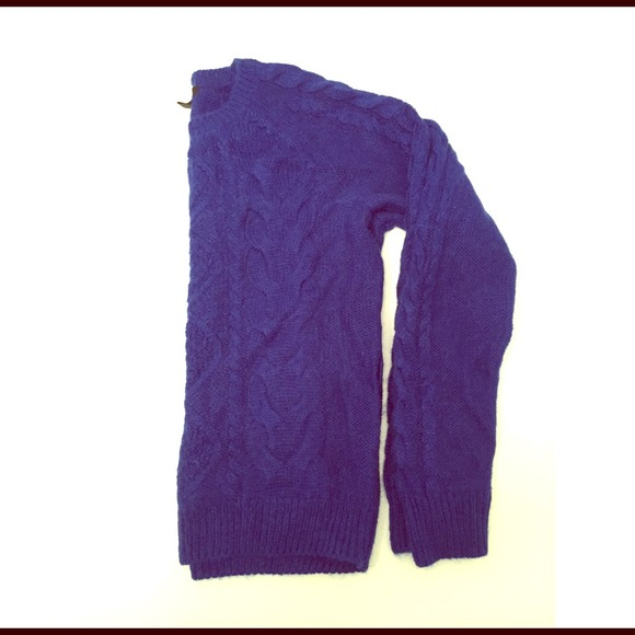 H&m Cobalt Blue Sweater