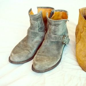 Fiorentini + Baker Shoes - Fiorenti and baker grey ankle boots